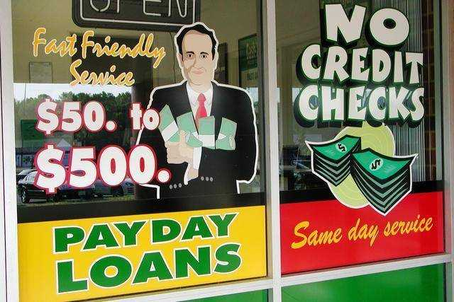 The cost of a payday loan